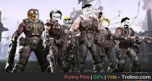Gears Of War Meme - gears of war meme style trolino