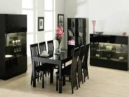 table and 6 chair set dining room furniture black dining table set dining table set with