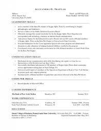 Computer Skills On A Resume Innovation Skills Based Resume 10 Skill Based Resume Examples