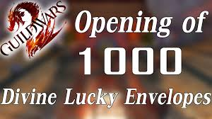 lucky envelopes guild wars 2 opening unboxing of 1000 lucky envelopes