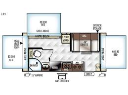 Expandable Floor Plans Rockwood Roo Expandable Rv Sales 10 Floorplans