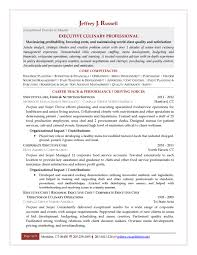 Cook Resume Sample by Culinary Resume Templates