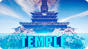 Huge World Map by Minecraft Japanese Temple Huge Minecraft Temple Cinematics