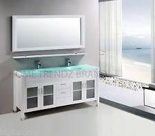 60 In Bathroom Vanity Double Sink Double Sink Bathroom Vanity Ebay