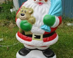 Blow Mold Christmas Decorations For Sale by Blow Mold Etsy