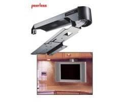under cabinet tv mount swivel amazon com peerless under cabinet swivel mount lcd 11 mounting kit