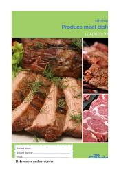 produce meat dishes workbook by glenn kelly issuu
