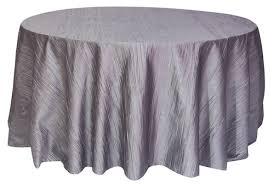 120 inch silver platinum crinkle taffeta tablecloths