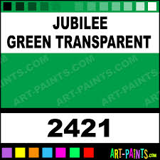 jubilee green transparent ceramcoat acrylic paints 2421