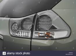 lexus rx400h dash 2007 lexus rx 400h hybrid in beige tail light stock photo