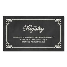 wedding registry templates chalkboard union wedding registry card chalkboards weddings
