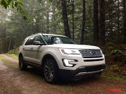 2016 ford explorer platinum discovering the great outdoors of