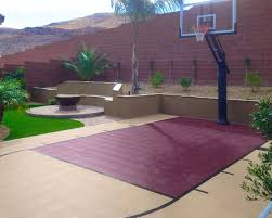 How Much Does A Backyard Basketball Court Cost Artistic Average Size Home Basketball Court By 4786 Homedessign Com