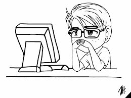 Meme At Computer - 9gag meme jeff sitting in front of computer by jeff1u on deviantart