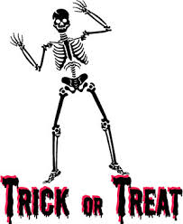 Halloween Skeleton Halloween Skeleton Clip Art Trick Or Treat Wordart