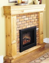 Rustic Electric Fireplace How To Build A Frame For An Electric Fireplace Insert Insert