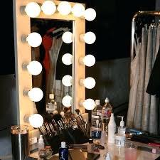 full length mirror with light bulbs light bulb mirror uk large white make up prop rental regarding