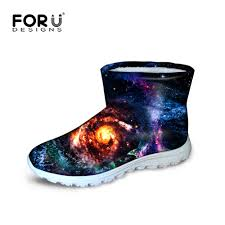 womens warm boots australia aliexpress com buy forudesigns quilted winter galaxy
