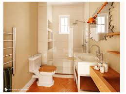 interior contemporary ideas in decorating small bathroom using
