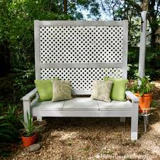 10 lovely benches you can build for your backyard and relax on