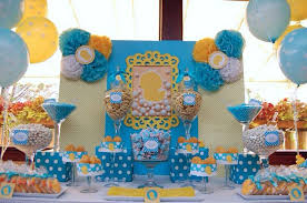 rubber ducky baby shower table decor baby shower ideas for