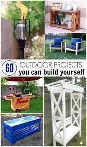 Diy Backyard Ideas 747 Best Diy Outdoor Decor Ideas Images On Pinterest Woodworking