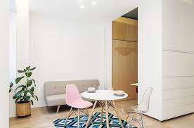 micro apartments under 30 square meters this 30 square meter micro apartment has a moving multi functional wall