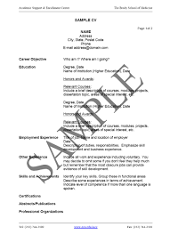 how to write cv resume cover letter sample