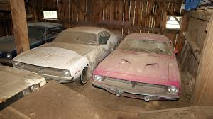 Muscle Car Barn Finds The Barn Find Of Mopars Hidden For Decades Secret Stash Part 2