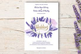 lavender wedding invitations wedding invitation lavender diy invitation templates creative