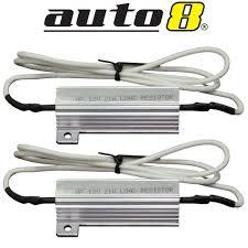 load resistors for led lights led load resistor 12v twin pack bullbar lights front rear