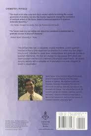 introduction to quantum mechanics amazon co uk david j tannor