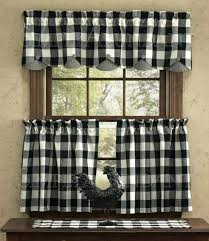 checkered kitchen curtains decorating mellanie design