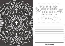 condolences cards our deepest condolences card illustration free vector