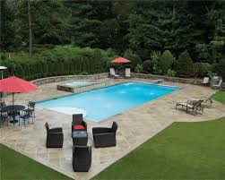 Inground Pool Patio Designs Best 25 Small Inground Pool Ideas On Pinterest Small Inground