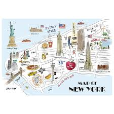 New York City Map Pdf Download Tour Map Of New York City Major Tourist Attractions Maps