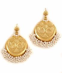 danglers earrings design peacock motif dangler earring exclusive danglers with peacock