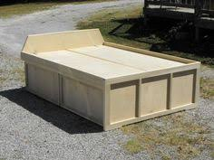 How To Build A Platform Bed With Drawers by Easy Instructions To Build A King Size Storage Platform Bed