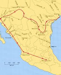 Map Of Western Mexico by