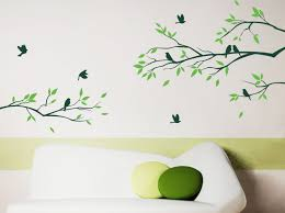 Headboard Wall Sticker by Baby Room Designs Tree Branch With Birds Headboard Wall Decal