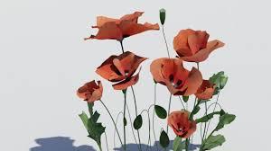 free flowers flowers free 3d models free3d