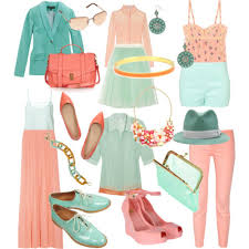 Color Combination Finder Doux Rousse Color Combination Peach And Mint My Kind Of Style