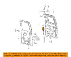 ford e250 rear door diagram ford tractor engine and wiring diagram