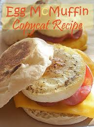 Egg McMuffin Copycat Recipe If your family loves the classic