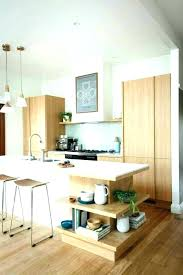 ilot cuisine blanc ilot central blanc cuisine avec ilot dacco bois et blanc cuisine