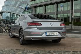volkswagen arteon rear volkswagen arteon launches