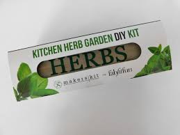 Kitchen Herb Garden Kit by Fabfitfun U2013 Spring 2016 Box Review U0026 Coupon U2013 Beejuboxes Com