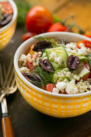 greek couscous bowls dinner at the zoo