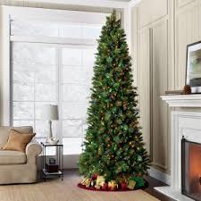 furniture idea appealing slim trees artificial pre lit