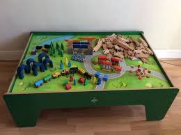 carousel train table set carousel wooden train table plus extra train sets in new cross